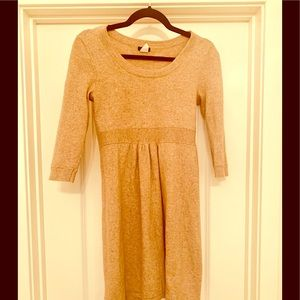 J Crew fitted wool dress size small.